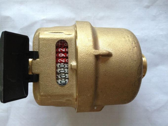 Brass Rotary Piston Volumetric Cold Water Meter ISO4064 Class C, LXH-15A