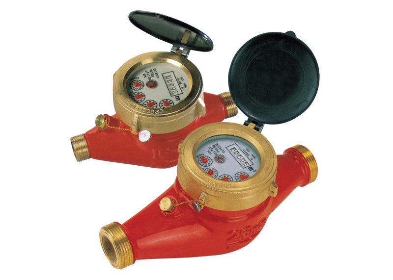 Brass Multi Jet Hot Water Meter With Magnetic Drive, LXSGR-15E