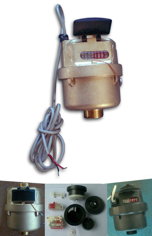 20bar Piston Water Meter Class C With Remote Reading Transmission, LXH-15Y