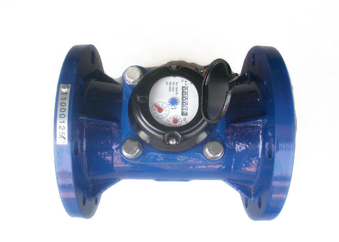 Horizontal Irrigation Turbine Water Meter DN150mm Cast Iron LXXG-150