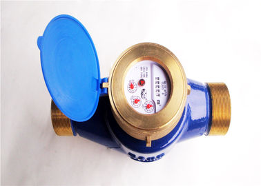 China Cold Brass Multi Jet Water Meter DN50 ISO 4064 Class B, BSP Thread LXSG-50E distributor