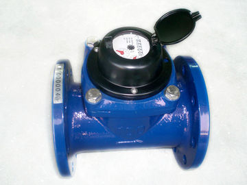 China Detachable Woltman Water Meter , Magnetic Industrial Water Meter factory