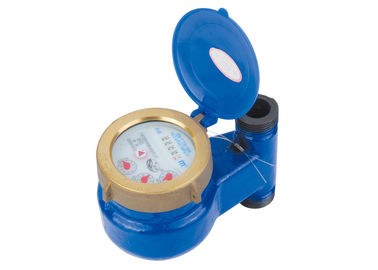 China Rotary Vane Wheel Vertical Water Meter Multi Jet With Liquid Sealed LXSL-15E distributor