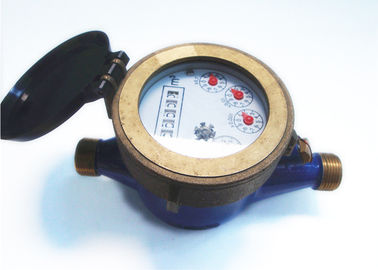 China House Horizontal Piston Water Meter Brass ISO4064 Class B, LXH-15A factory