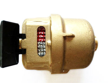 High Stability Residential Water Flow Meter Brass Transmission Sensors LXH-15A