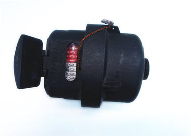 China Plastic Piston Water Meter ClassC / ClassD Volumetric Black, LXH-15P distributor