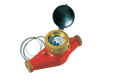 China Industrial Multi Jet Water Meter Remote Read Magnetic Brass Class B distributor