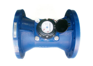 China Woltmann Large Mechanical Water Meter DN 200mm with High Accuracy distributor