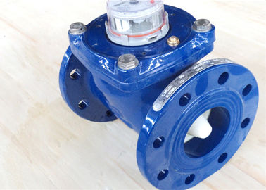China Vane Wheel Woltman Water Meter , Woltmann Commercial Water Meter LXLC-80B factory