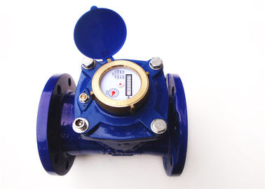 China Woltmann Removable Dry Dial Water Meter , 5 Inch Industrial Water Meter, LXLG-125B factory