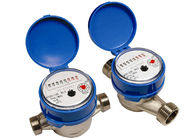Brass Single Jet Water Meter , Super Dry Cold Water Meter DN15mm, LXSC-13D